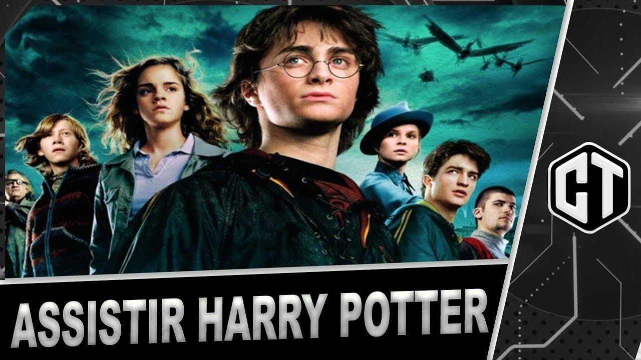 Como Assistir, Todos Os Filmes De Harry Potter (DUBLADO)