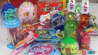 Jenny play 제니 장난감  미국과자 어디까지 먹어봤니 불량식품 일본과자 미국과자 리뷰