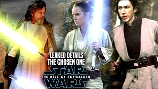 The Rise Of Skywalker The Chosen One! Leaked Details Revealed (Star Wars Episode 9)
