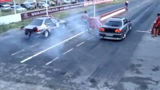 Nissan Skyline GTR R34 V spec vs Mitsubishi Lancer Evolution VIII