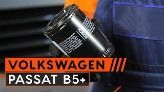 Ölwechsel VW PASSAT B5+ (wie Öl und Ölfilter wechseln) [AUTODOC TUTORIAL]