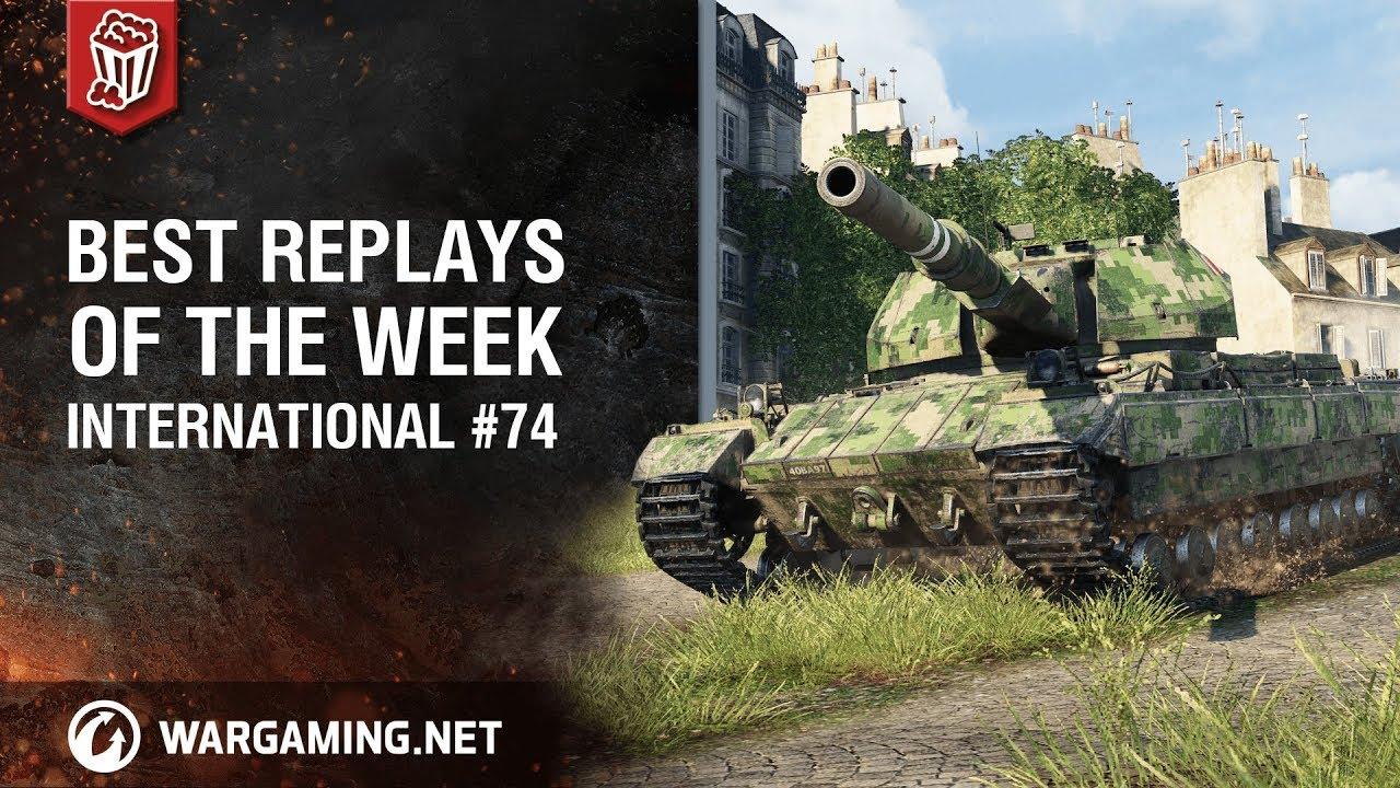 World of Tanks – Best Replays of the Week International #74