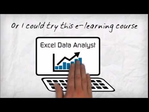 Excel Data Analyst Promo Video