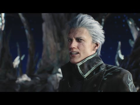 DEVIL MAY CRY 5 All Endings - Final Boss Fight & Ending (Vergil Final Boss FIght) DMC5