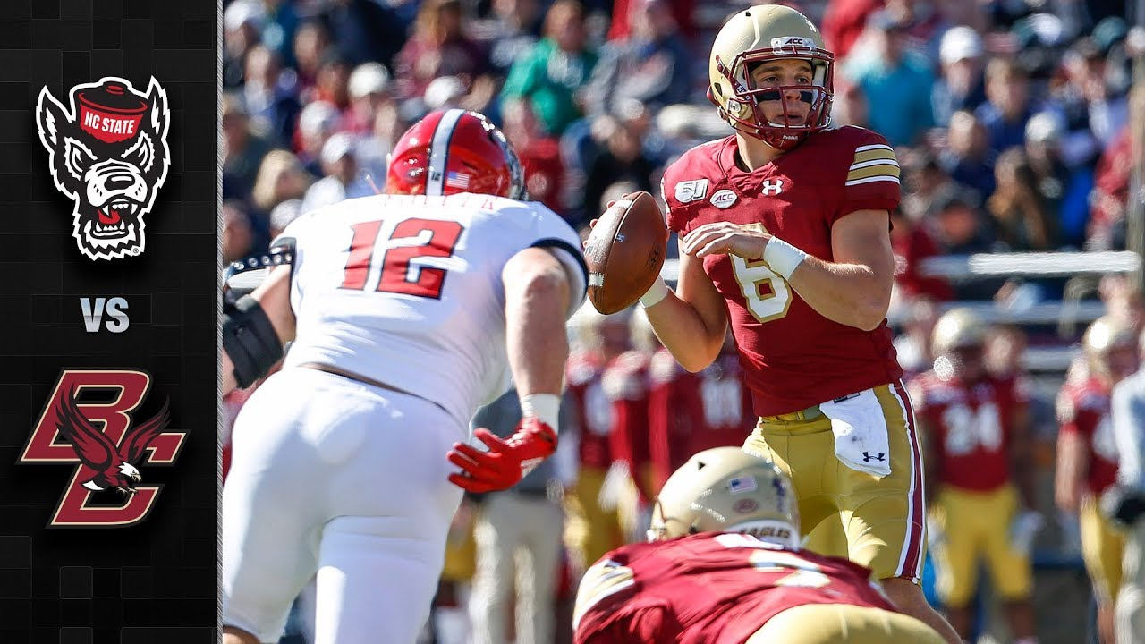 AJ Dillon and Boston College run over NC State football