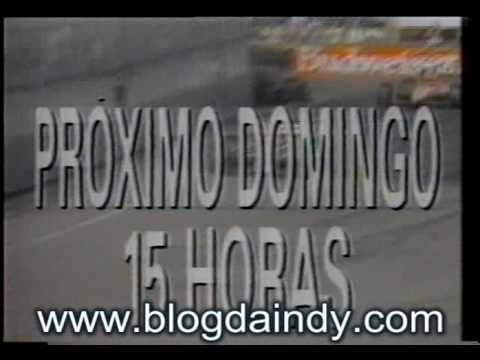 Chamada Indy 1993 Milwaukee Rede Manchete