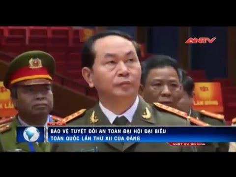 Lực lượng Cảnh vệ bảo vệ Đại hội Đảng lần thứ 12