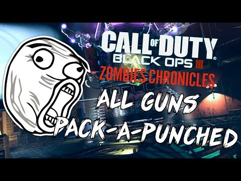 "Black Ops 3: ""All Guns Pack-A-Punched"" - ZOMBIE CHRONICLES *LIVESTREAM* w/ Syndicate!"