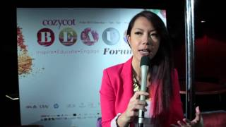 CozyCot Beauty Forum 2012 - Desiree Lai Interview Segment Thumbnail
