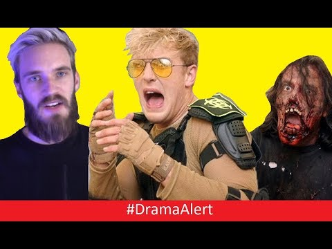 Thumbnail: Jake Paul Takes over PewDiePie YouTube Red Show! #DramaAlert Logan Paul DUMB! RiceGum Kicked Out?