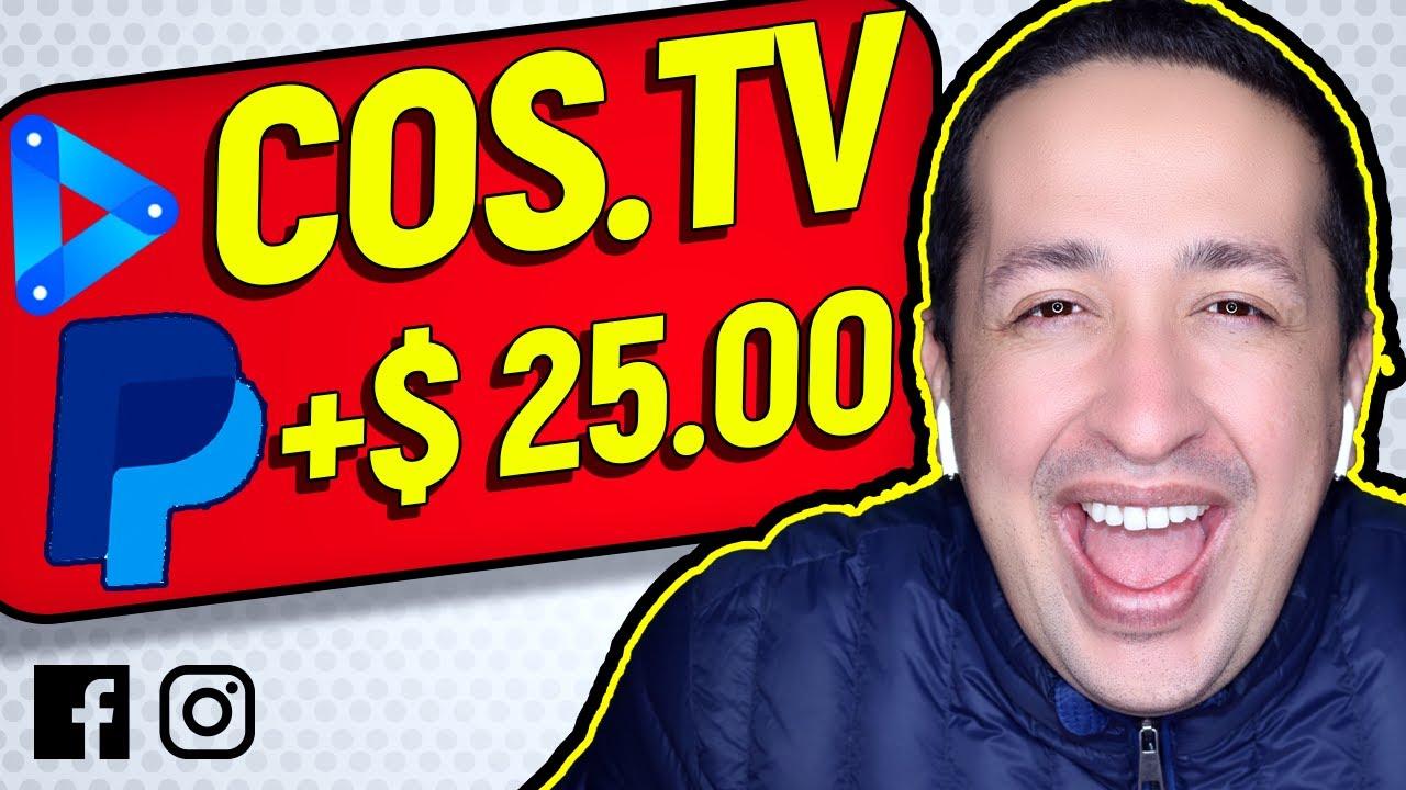 COS TV 🔥 ¿QUE ES Y COMO FUNCIONA? | COS.TV 2020 | COMO GANAR DINERO CON COS TV