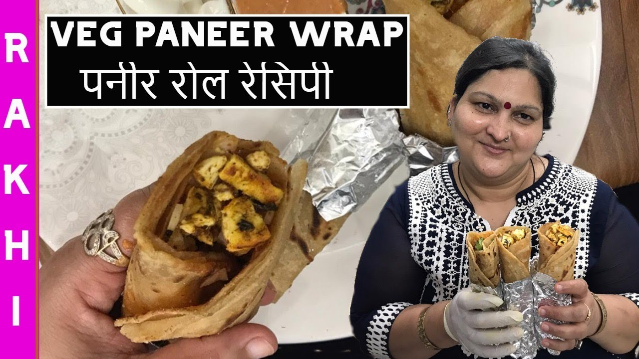 Healthy Paneer Wrap Roll   Street Food Recipe at Home   Frankie  