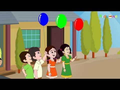 Gubbare Wala ||  Animated Kids Rhymes in Hindi - KidsOne