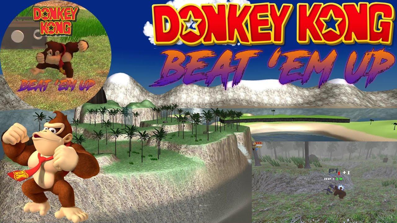 Donkey Kong Beat 'Em Up PC Gameplay | 1080p 60fps