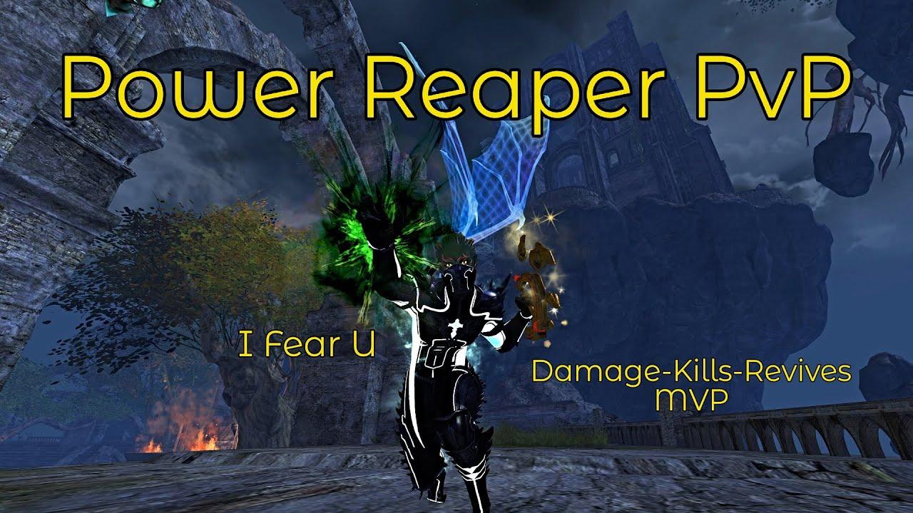 Guild Wars 2 - Power Reaper PvP