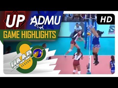 UAAP 80 WV: UP vs. ADMU | Game Highlights | April 7, 2018
