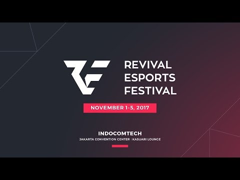 LIVE - RevivaL Esports Festival -Grand Final RRQ.O2 vs EVOS- Garuda Legendary Cup @Indocomtech 2017