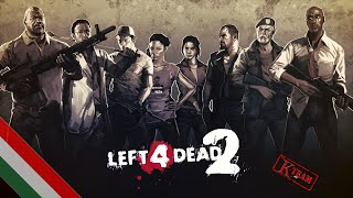 "Left 4 Dead 2: Co-op Gameplay #9 ""Cold Stream"" (PC) (HUN) (HD)"