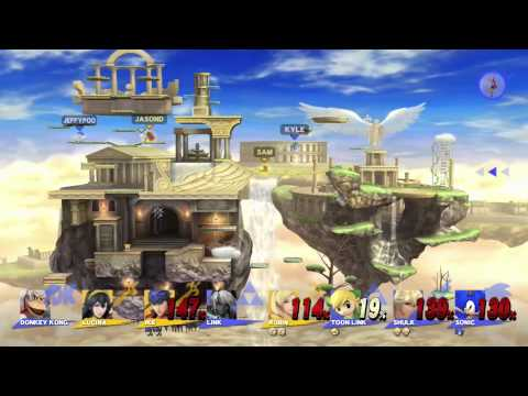 Test Chamber - The Final Super Smash Bros. 8-Player Spectacular