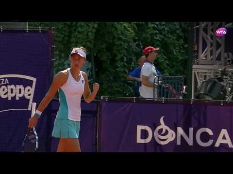 2017 Bucharest Open Semifinals | Irina-Camelia Begu vs Carla Suárez Navarro | WTA Highlights