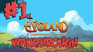 Evoland Walkthrough part 1 [PC Gameplay playthorugh Let`s play 2013]