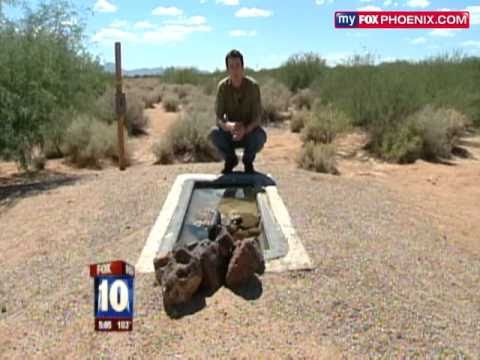 Drug Smuggler in Cave Scouts for Cartels 60 Miles North of Border in Arizona