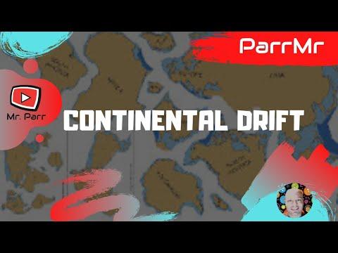Continental Drift Song