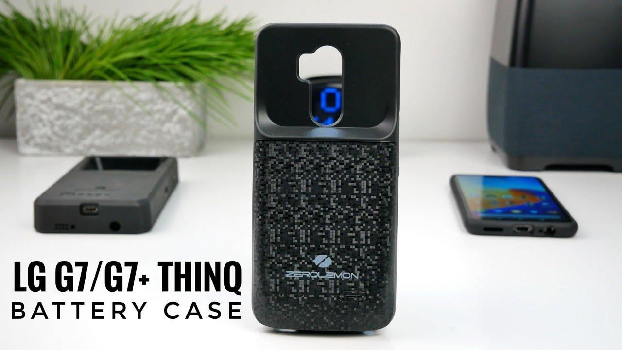 finest selection 987ca 5a790 ZeroLemon LG G7/G7+ ThinQ Battery Case Unboxing