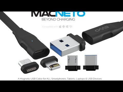 Top 5 - Best Magnetic USB Cable / Magnetic Charging cable for Laptop, Android and Iphone  #01
