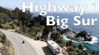 Rundreise Westküste USA Highlights | Highway 1| Big Sur | Wasserfall am Strand