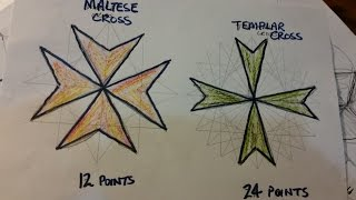 Vesica Pisces Ep13 The Maltese & the Templar Cross 3-6-12-24