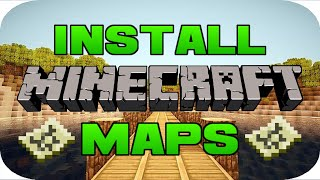 ✔️️How To Download Minecraft Maps On PC 1.14/Any Version