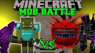ORC SHAMAN VS CACODEMON, MUTANTS, & MAGE - Minecraft Mob Battles - Mods