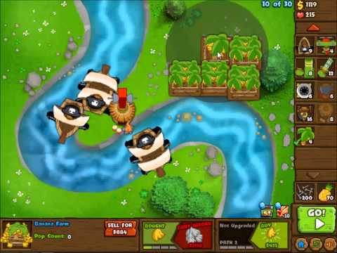 River Monkeys Bloons Monkey City River