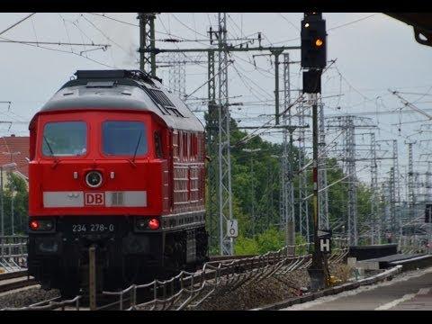 Berlin-Warschau-Express (BWE) und Ludmilla durch Karlshorst