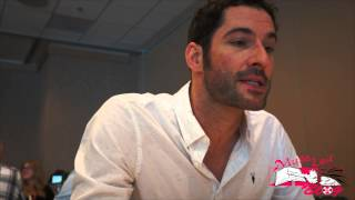 Tom Ellis talks Lucifer during SDCC 2015