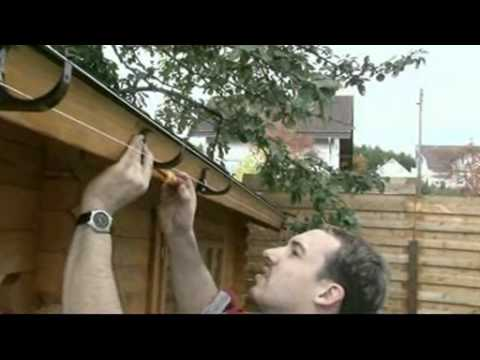 gutter systems information and installation video youtube. Black Bedroom Furniture Sets. Home Design Ideas