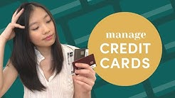 How To Manage Credit Cards