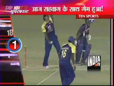 Randiv No-Ball Prevent Sehwag From Getting Century