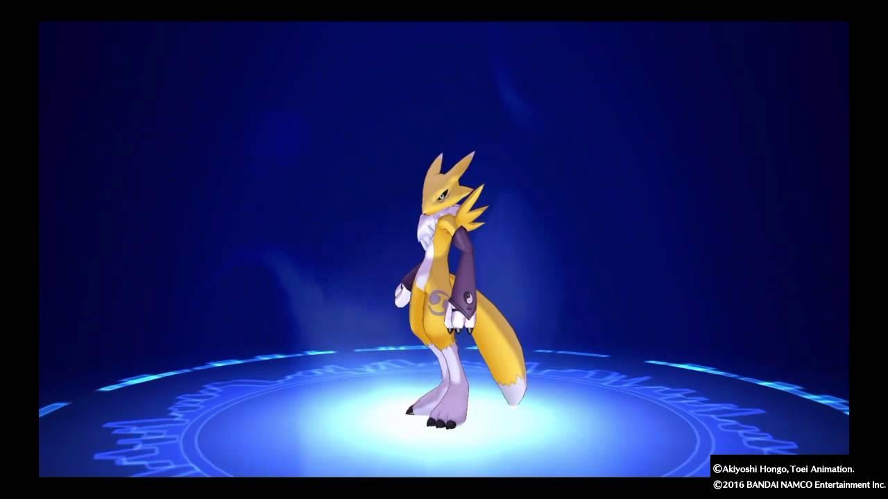 Digimon story cyber sleuth ps renamonsakuyamon digivolve list youtube also rh