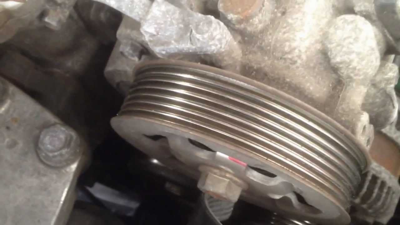 small resolution of 2003 2007 honda accord 2 4l vtech serpentine belt change easy way youtube