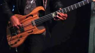 Jon Reshard plays the BGF Fretted/Less bass