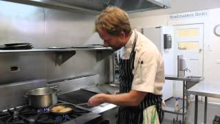 Corn Fritters, Byron Bay Style, With Chef Graeme Stockdale From Liliana's Cafe