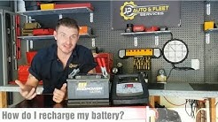 How Do I Recharge My Car Battery | How Long To Charge A Car Battery At 2 AMPS