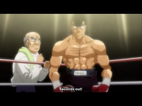 TAKAMURA'S KO PROCLAMATION VS HAWK! (Eng Sub) - Hajime No Ippo New Challenger Ep. 22
