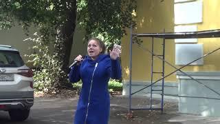 Юлия Милитан Праздник двора ДК НЕФТЯНИК