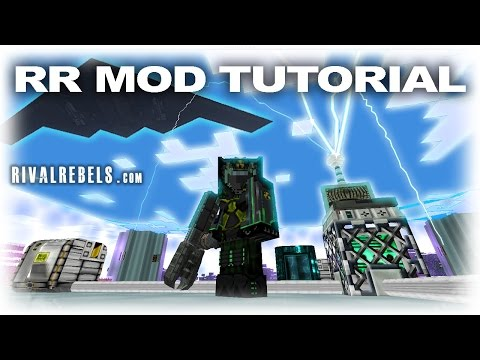 Rival Rebels Mod Flamethrower Showcase In Minecraft