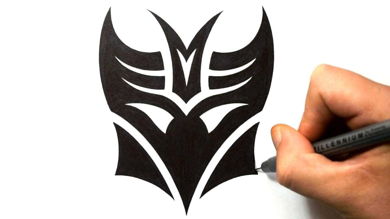 How to draw decepticon in a tribal tattoo design style youtube biocorpaavc