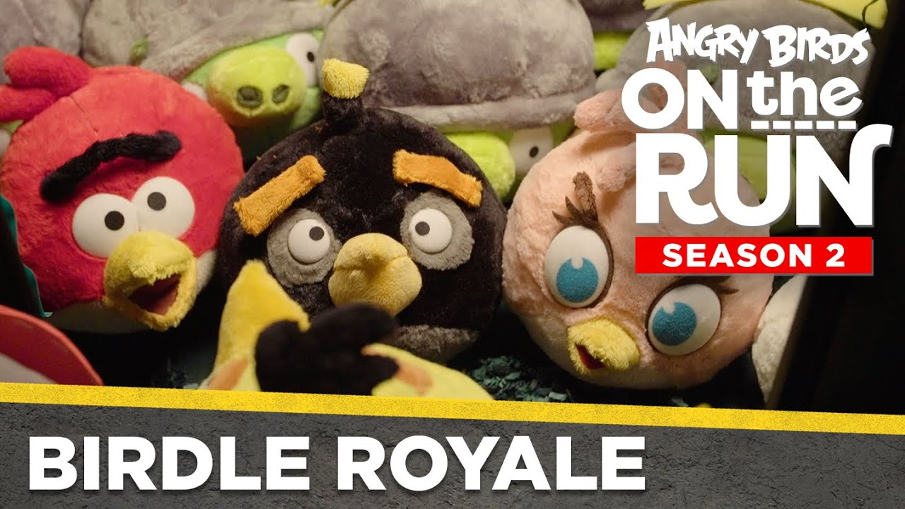 Angry Birds on the Run S2 | Birdle Royale - Ep13
