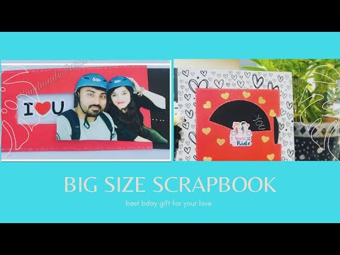 Anniversary Scrapbook For Husband/Wife  | Handmade Anniversary Gift | Cute Anniversary scrapbook